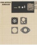 Membraamset passend op TILLOTSON RK-14HU passend op STIHL 028