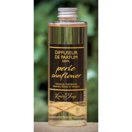 Les Lumières du Temps  - Navulling geurstokjes Perle Sunflower 200 ml.