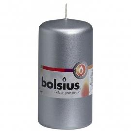 Bolsius Stomp Zilver Ø 120/60