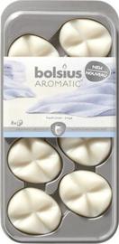 Bolsius Creations - Geurchips (waxmelts) Fresh Linen 8 stuks