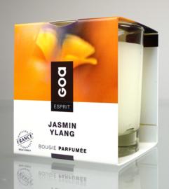 GOA Esprit geurkaars Creme Jasmin Ylang 300 gram.