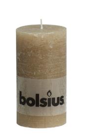 Bolsius Stomp Rustiek Pastelbeige 130/68