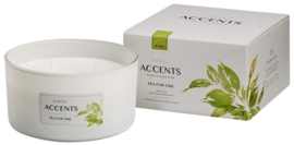 Bolsius - Accents geurkaars multi lont tea for one