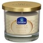 Gouda Geurglas Ivoor / Vanilla & white tea 90/100 mm