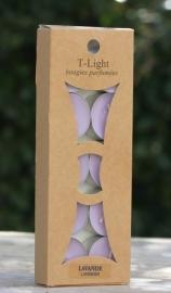 Natuurlijke geurtheelichten in diverse geuren Lumieres du Temps 10 stuks