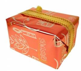 Kado(`s) inpakken in kerstpapier