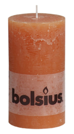 Bolsius Stomp Rustiek Oranje 130/68