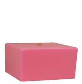 Bigfoot® kaars 0.8 kg knal roze