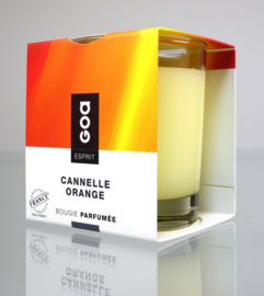 GOA Esprit geurkaars Creme Cannelle Orange 240 gram.