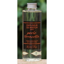 Les Lumières du Temps  - Navulling geurstokjes Perle Terracotta 200 ml.