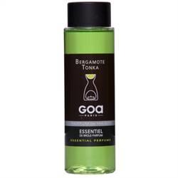 GOA Geurolie voor geurbrander Bergamote Tonka 250 ml.