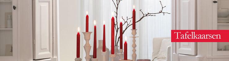 Bolsius Tafelkaarsen Dinerkaarsen kaarsenlantaarn