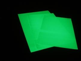 Zeefdrukvel groen