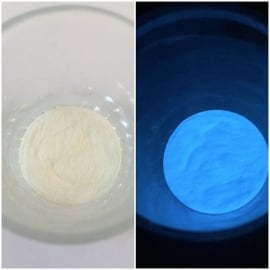 Glow in the dark pigment Blue