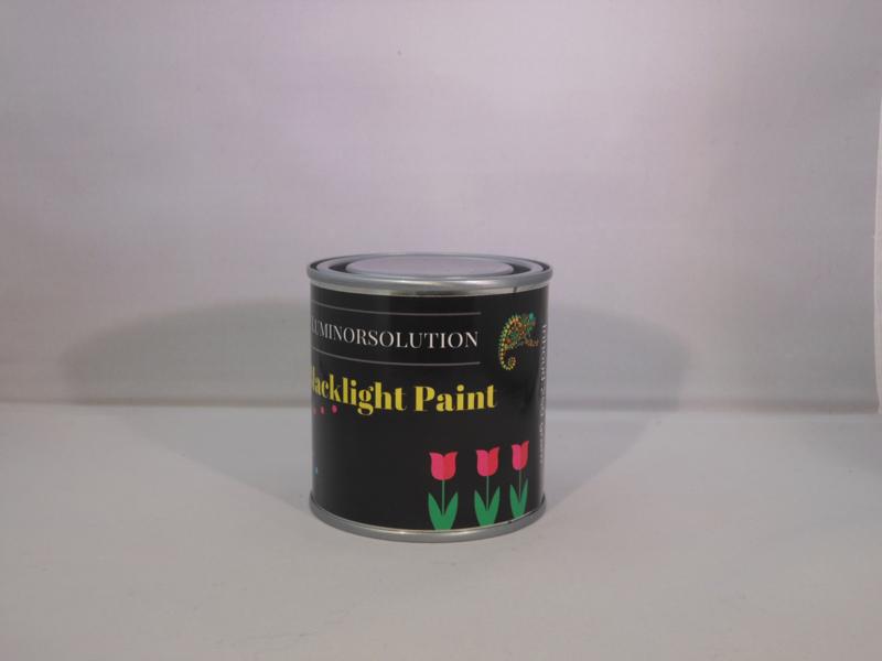 Blacklight verf geel