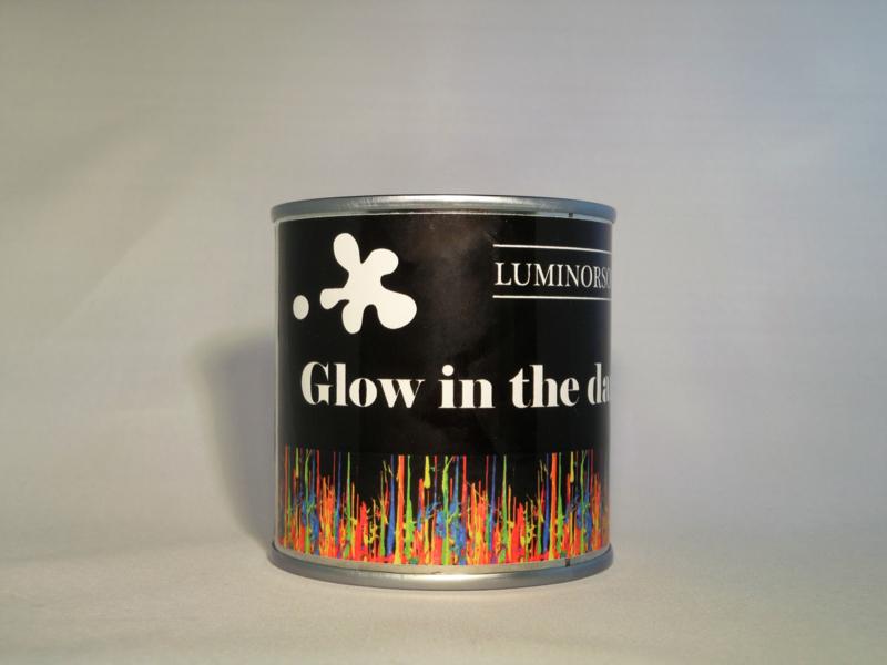 Fotoluminescent verf wit