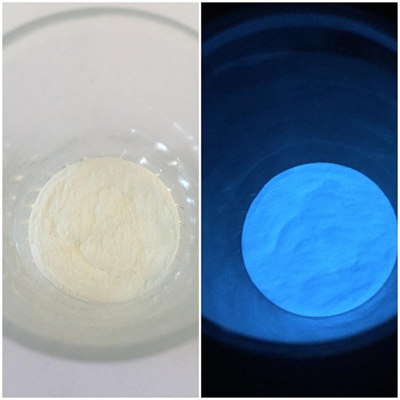 Fotoluminescerend pigment BLAUW