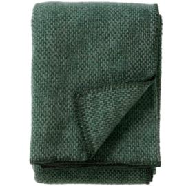 Groen plaid Klippan Domino wol