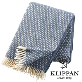 Blauw plaid Klippan Knut Smokey blue