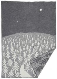 Klippan deken House in the Forest grijs