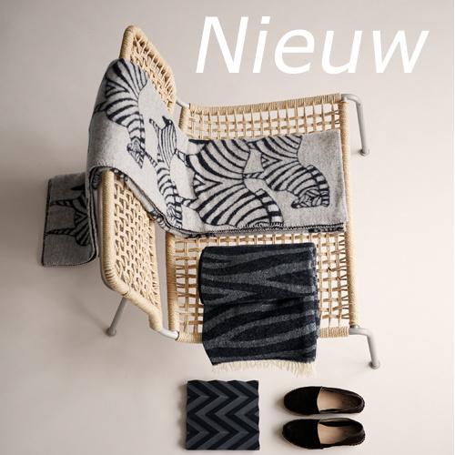 Klippan deken Zebra