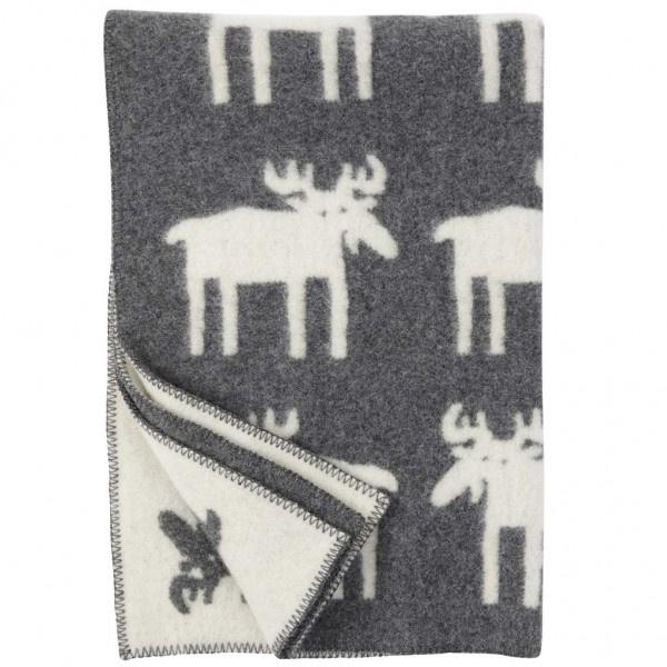 Klippan deken Eland grijs