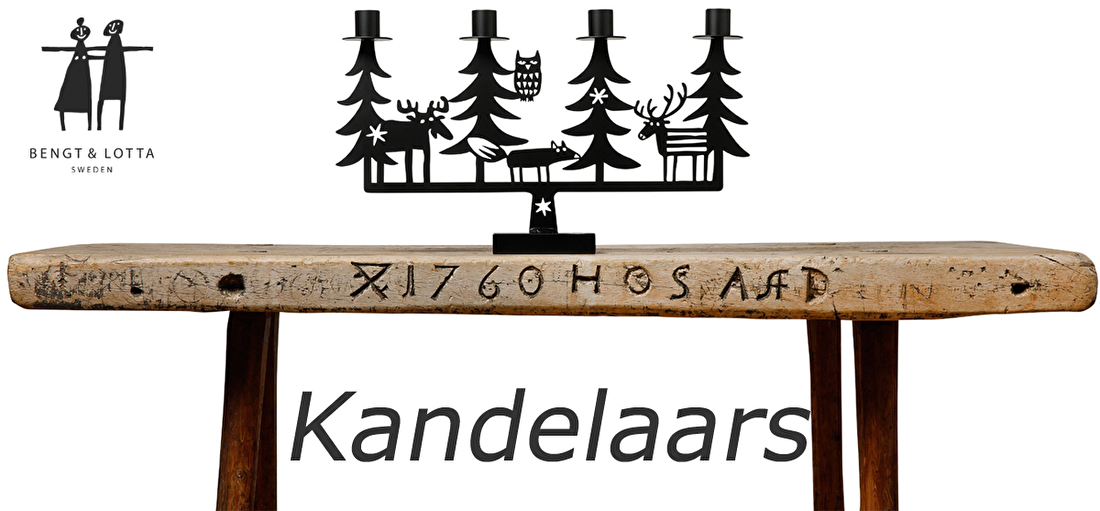 Bengt & Lotta kandelaars