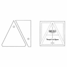 Bloc-Loc linialen - Triangle in a Square 4 x 4 inch