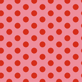 Medium Dots Salmon - 130028