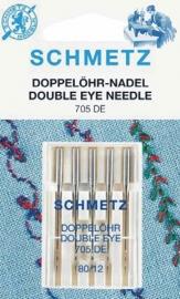 Schmetz -  naaimachine naalden dubbel oog