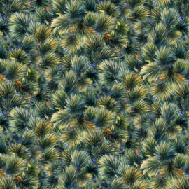 Elizabeth's Studio Landscape Pine Needles - 19003GR