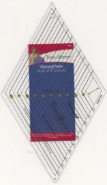 Diamond 60 gr. ruler/liniaal