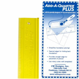 Liniaal Add-A-Quarter - plus