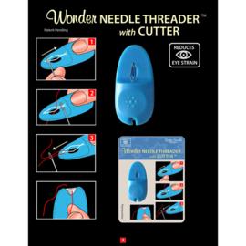 Draaddoorsteker - Needle Threader and Cutter