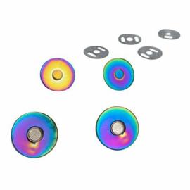 Magneetsluiting rainbow 18 mm