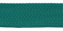 Tassenband 25 mm zeegroen