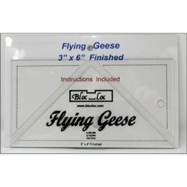 Bloc-Loc linialen - Flying Geese 3 x 6 inch