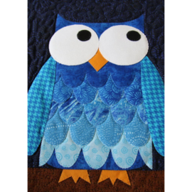Quiltpatroon - Hootsville Row (uilenquilt)