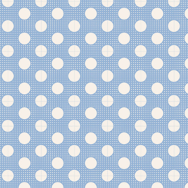 Medium Dots Blue - 130002