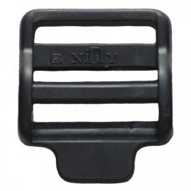 Kunststof laddergesp zwart  30 mm