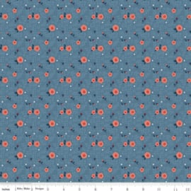 Hedge Rose - C7902/Blue