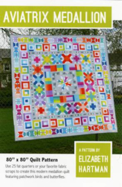 Quiltpatroon by Elizabeth Hartman - Aviatrix Medallion