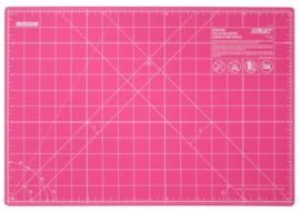 Snijmat Olfa - 45 x 30 cm roze