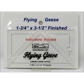 Bloc-Loc linialen - Flying Geese 1,75 x 3,5 inch