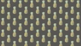 Fern Garden Pineapple Grey  - 2074/S