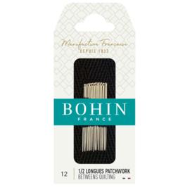 Quiltnaalden Bohin -  maat 12