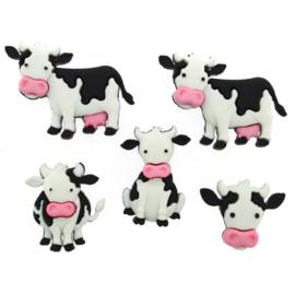 Koeien knoopjes - 8977