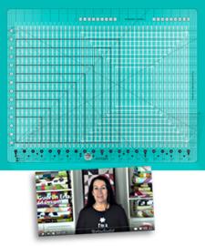 Creative Grids Quilt ruler : Stripology XL - CGRSGE1XL