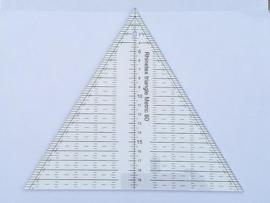 Liniaal - Driehoek 60 gr