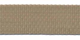Tassenband 30 mm zand